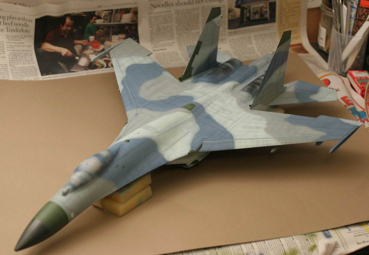 1 32 Su-27 Flanker