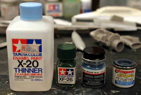 enamel acrylic lacquer paint